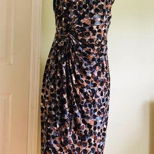 Connected stylish striking Bubble print Dress